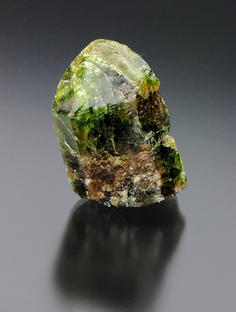 Fluorapatite crystal from Yates uranium mine.