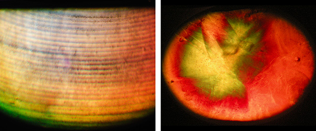 Microscopic features in Verneuil-grown and diffusion-treated sapphires by Wiede's Carbidwerk