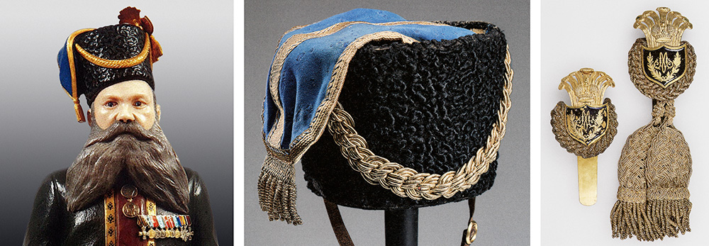 Detail of Fabergé's Kudinov figure