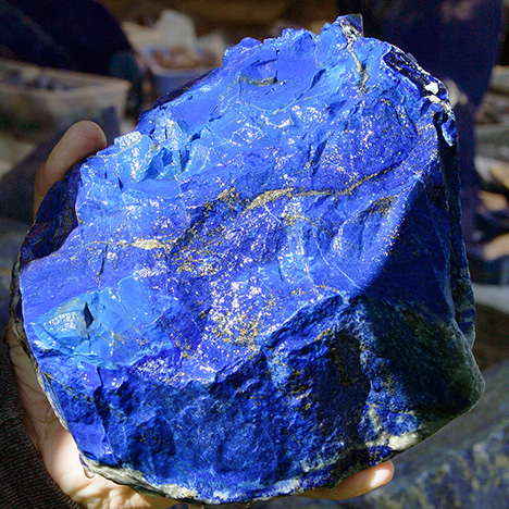 Afghan lapis lazuli is now a conflict mineral.