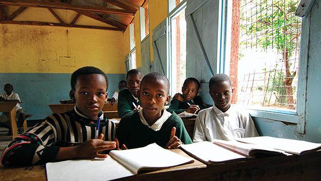 Schoolchildren in Arusha, Tanzania.