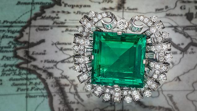 75.45 ct Hooker emerald