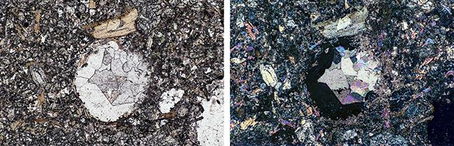 Leucocratic ocelli in Yogo sapphires