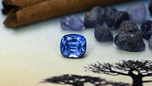 Sapphires from Madagascar