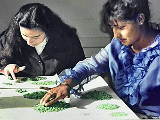 Sorting Chivor rough emeralds in the 1960s