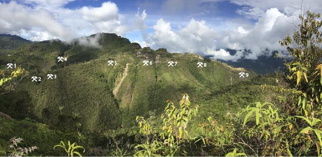 A view of the Buenavista Mine at Chivor