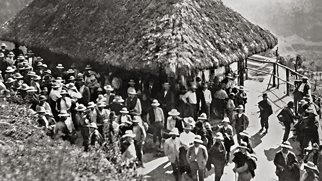 Late 1920s or early 1930s at Chivor