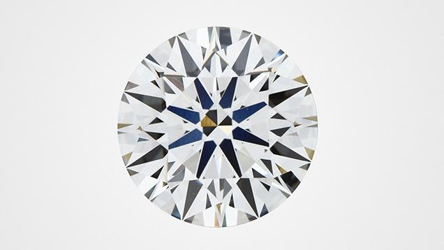 A counterfeit GIA inscription was found on this CVD laboratory-grown diamond.