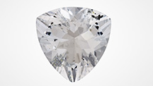 Transparent 7.17 ct colorless sodalite.