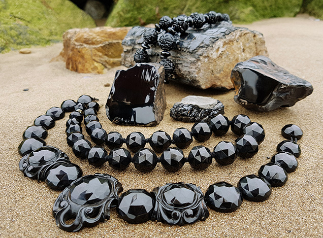 Victorian Whitby jet