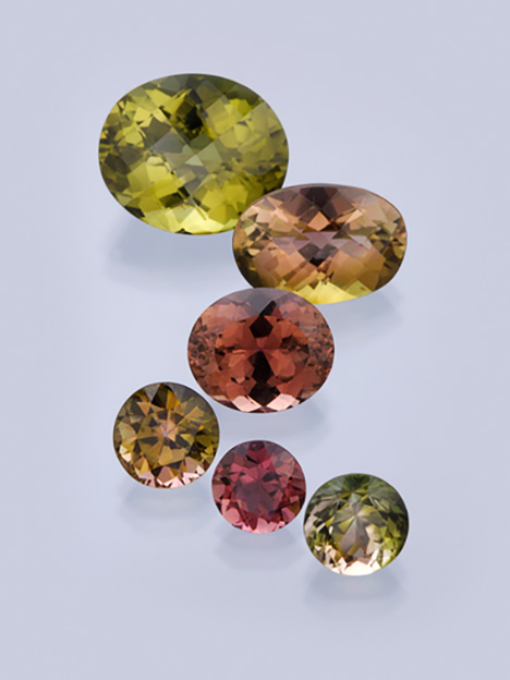 Tourmalines from Lundazi, Zambia