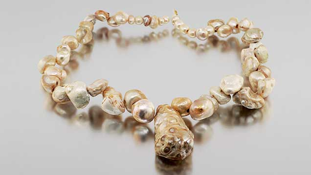 Drilled natural pearls examined in this study.