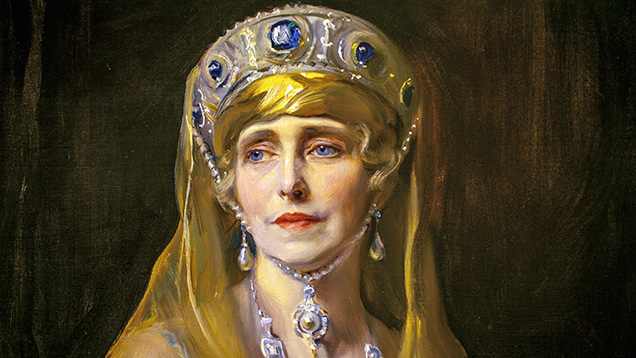 Portrait of Queen Marie of Romania