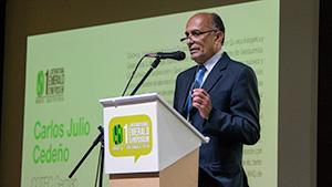 Dr. Carlos Julio Cedeño at the International Emerald Symposium