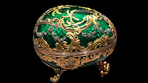 Fabergé egg from the McFerrin Collection.