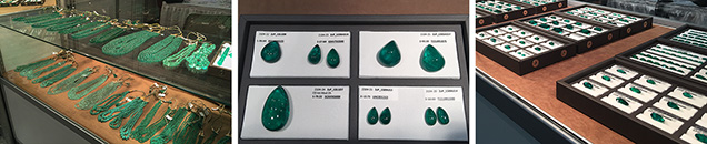 Emeralds from Real Gems, Inc.