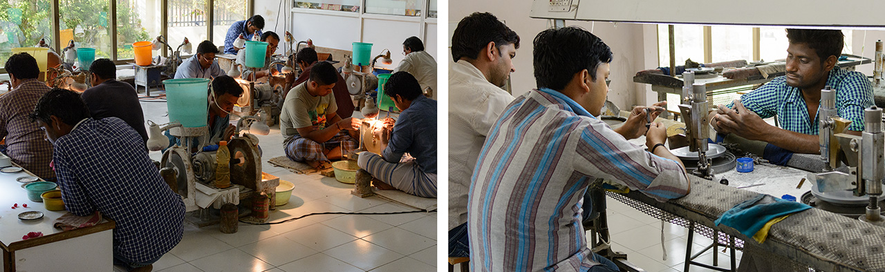 Sambhav's preformers and faceters
