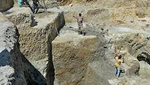 Metals of Africa artisanal mining pit.