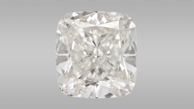 5.19 ct CVD synthetic diamond