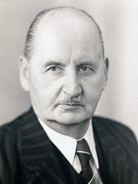 Richard Nacken in 1954, at age 70