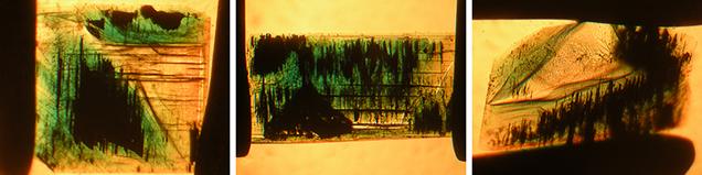 Type 1 Nacken synthetic emeralds