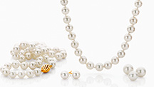 Naturally white cultured pearls from Broken Bay Pearls