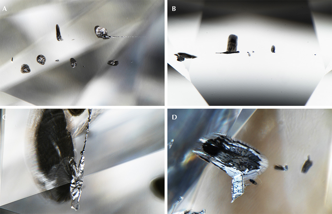 Metallic Fe-Ni-C-S inclusions in CLIPPIR diamonds