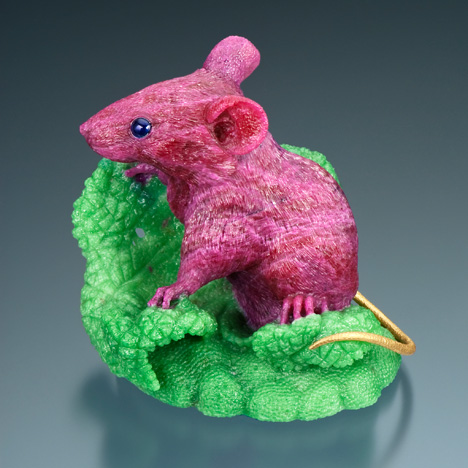 Gerd Dreher ruby-in-zoisite mouse
