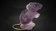 Amethyst mouse by Gerd and Patrick Dreher.