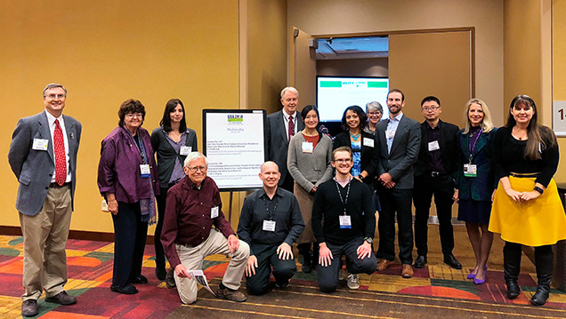 Presenters, guests, and advocates from the GSA annual meeting