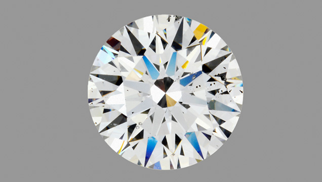 Natural diamond originally submitted as a synthetic