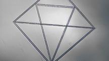 CVD-grown diamond with an internal inscription of the Lightbox logo