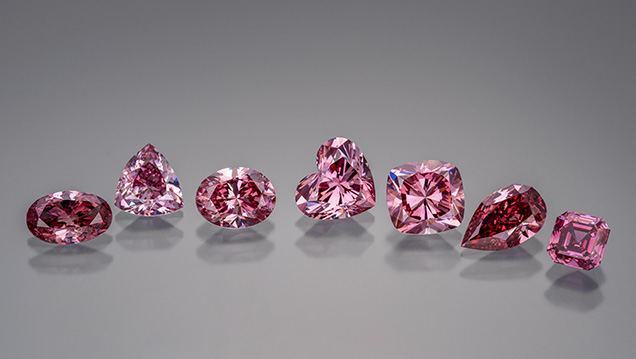 Diamonds from 2016 Argyle Pink Tender