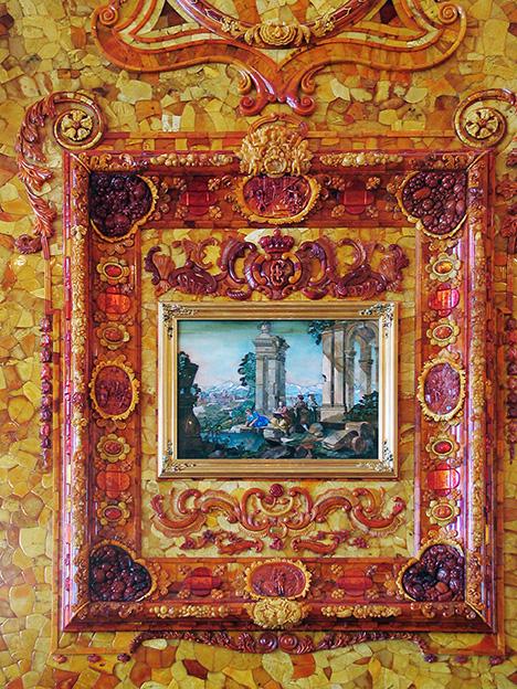 "Florentine mosaic ""Sight"""
