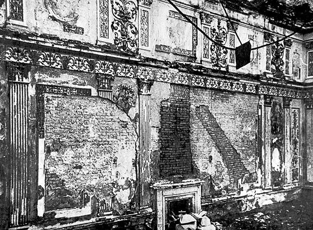Destruction of the Amber Room during World War II
