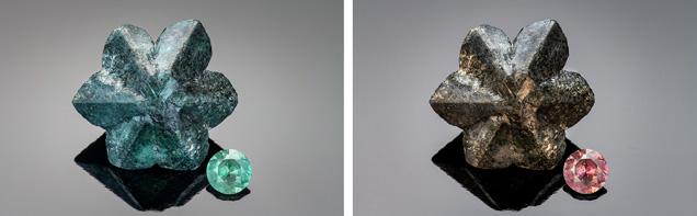 Alexandrite mineral specimen from Malysheva, Russia