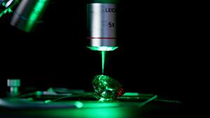 Confocal Raman spectroscopy