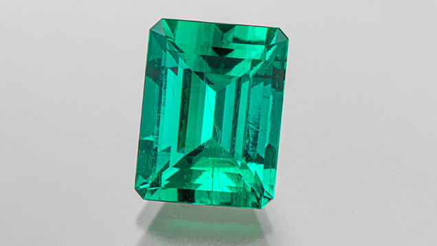 A 4.50 ct emerald from Chivor, Colombia