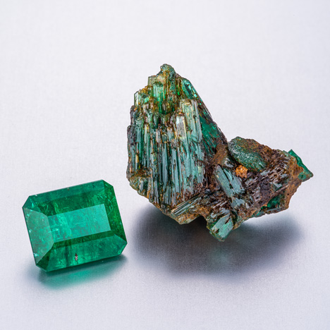 Emeralds from Afghanistan