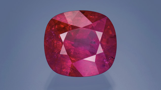 17.14 ct Tajik ruby