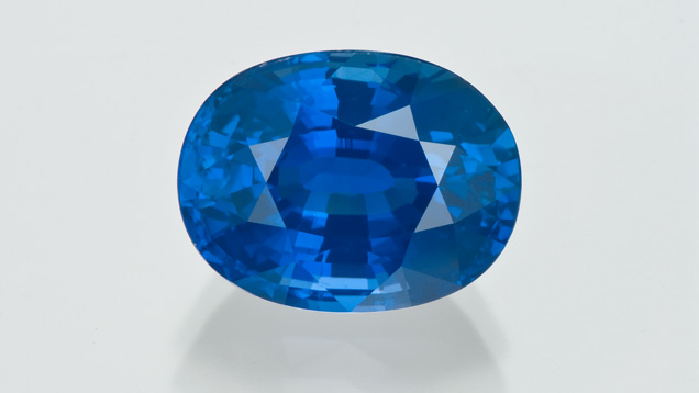 11.16 ct blue sapphire