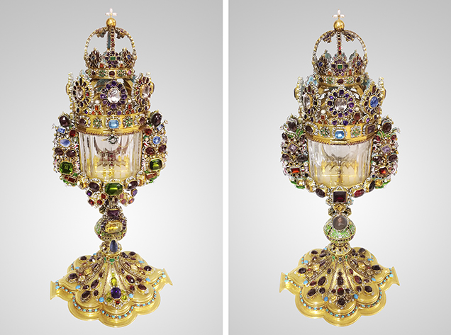The Cologne monstrance in its present state