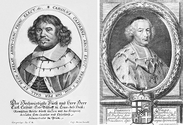 Two of the Archbishops and Prince-Electors of Trier