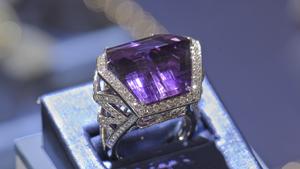 顶级品质的紫水晶