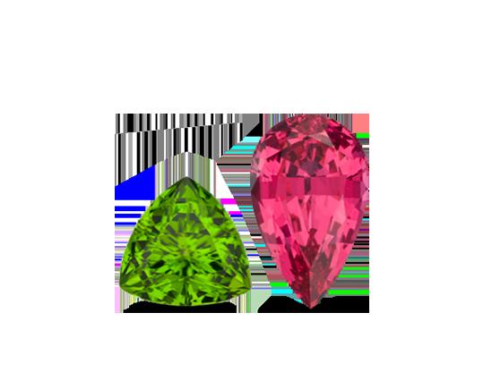 August birthstone jewelry, peridot jewelry, green peridot and diamond jewelry in Round rock, tx