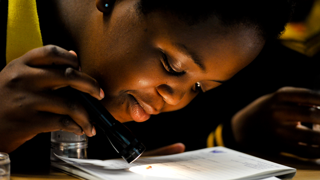 African Students Discover the Wonder of Gems