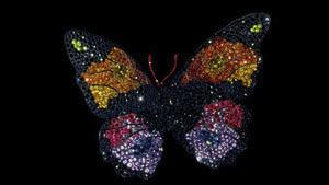 JAR 蝶のブローチ