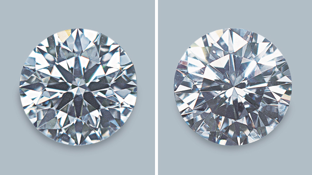 Comparing 2 diamonds