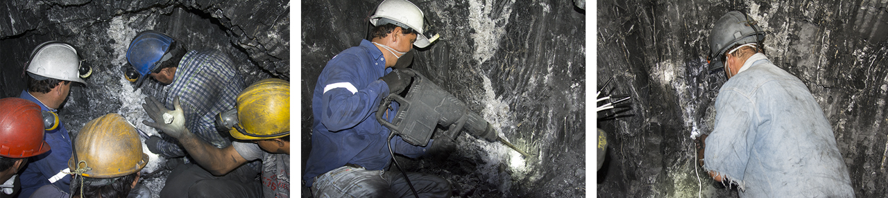 Use of explosives at Pavimentado mine