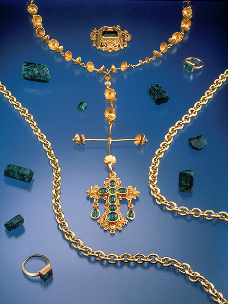 Colombian emeralds and jewelry from the New World